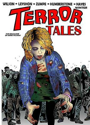 163 TERROR TALES #5 Rainfall chapbook. Horror tales of the weird and supernatul