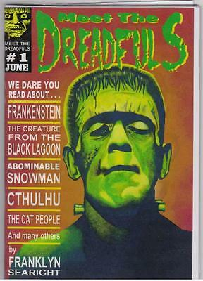 038 MEET THE DREADFULS #1 Rainfall chapbook.Franklyn Searight  Horror poetry