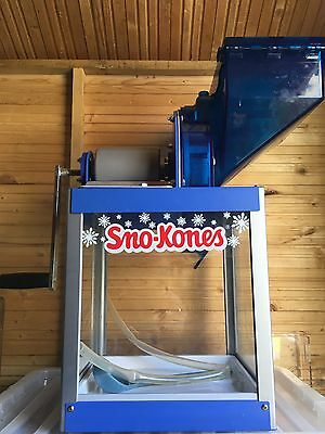 Gold medal Snow Cone Machine.