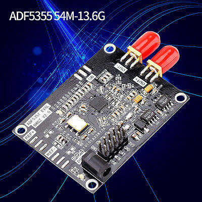 New ADF5355 phase-locked loop RF output 54M-13.6G Development Board PLL VCO DY