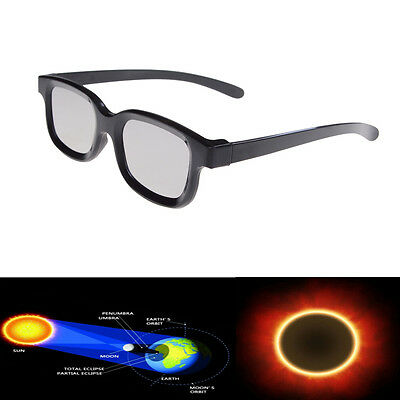 Plastic Solar Eclipse Viewing Glasses USA 2017 100% SAFE CE APPROVED DARKER XB