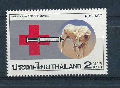 D131361 Red Cross - Dog MNH Thailand