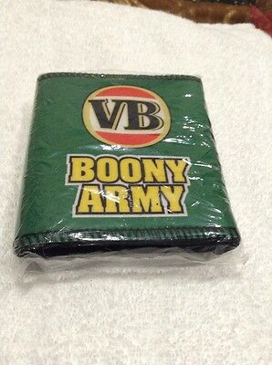 vb -vic bitter can cooler -flat cricket boony army- boonanza 11 on back