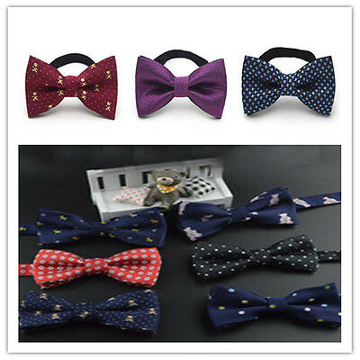 Cute Boys Children baby Party Pre-tied Cotton Wedding bow tie Necktie
