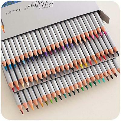 Marco 72 Colors Art Drawing Oil Base Non-toxic Pencils Set For Artist Sketch SwQ