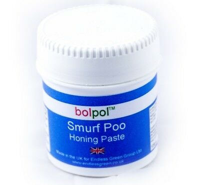 Smurf Poo Honing Paste - For Knife & Tool Sharpening With A Strop - Choice Size