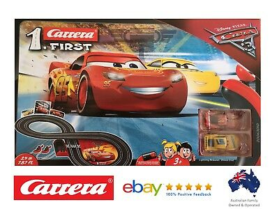 Carrera Disney Pixar Cars 3 Lightning McQueen Slot Car Racing RC Remote Control