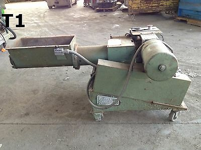 Molding Systems Polymer Machinery Corp. 68 Auger Plastic Grinder Granulator