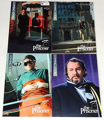 The Prisoner - Rare (200) Set of 4 Preview Cards by Unstoppable Cards #141/200