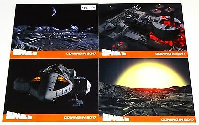 New Space 1999 Rare (200) Set of 4 Preview Cards by Unstoppable Cards #186/200