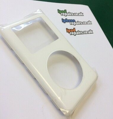 NEW White Front Cover Replacement for iPod Classic 4th Gen Panel Housing A1059