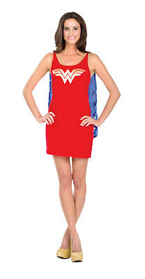 Rubie'S Wonder Woman Dc Comics Justice League Adult Dress With Cape Costume