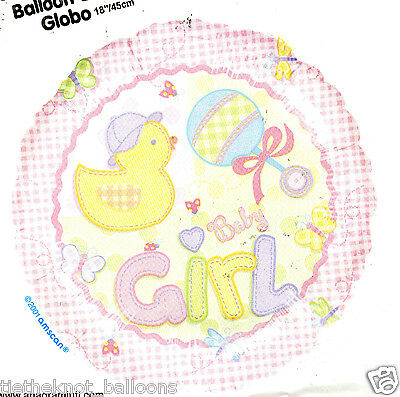 "18"" Foil Balloon  New Baby Girl Baby Shower Birth"