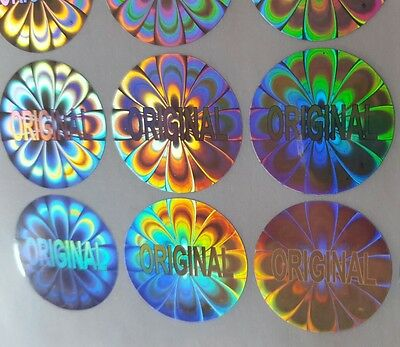 "Hologram Labels Sticker Tamper proof ""Original"""