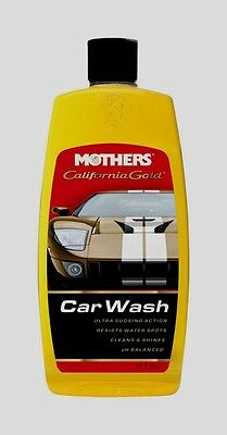 Mothers California Gold CAR WASH DETERGENT Soap Concentrated Liquid Cleaner 16oz