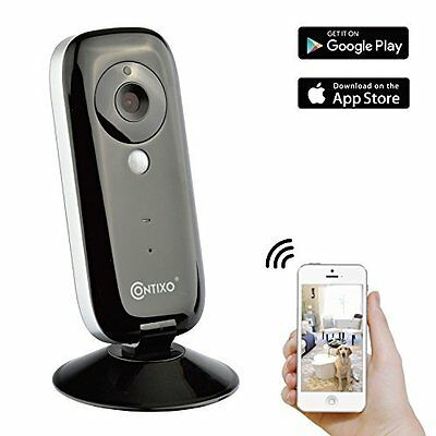 Baby Monitor Smart Security Camera HD WiFi Wireless Two Way Audio & Night Vision