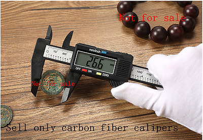150MM 6inch Micrometer Digital Electronic Carbon Fiber Vernier Gauge LCD Caliper