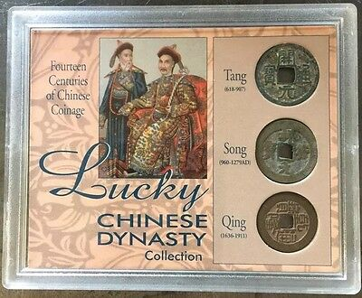 Three Coin Lucky Chinese Dynasty Collection.