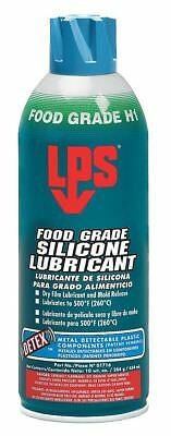 LPS Food Grade Silicone Lubricant w/Detex(TM), 16 oz. Container Size, 10 oz. Net