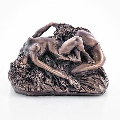 Erotic Female Lovers Bronze Sculpture Lesbian / Gay Interest. Art, Gift Ornament
