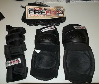 Junior Firefly Protective Guards Wrist Elbow Knee 3 Pack Safety Gear Kids MD/LG