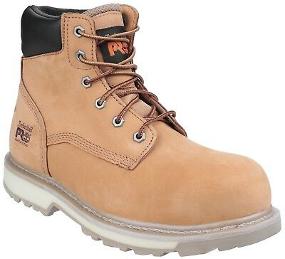 Timberland Pro pour Hommes 6-Eyelet Wheat Nubuck Bottes Traditionnel 6201060