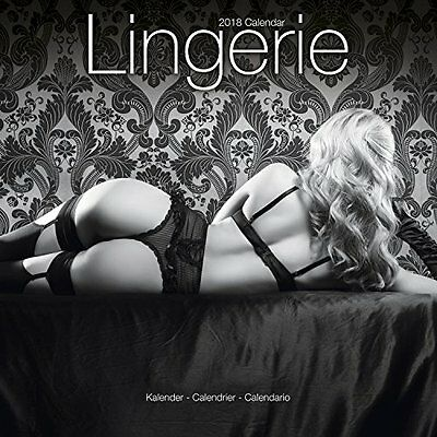 2018 16 Month Wall 12x12 Calendar Lingerie by Avonside Sexy Girl Chick Babe Hot