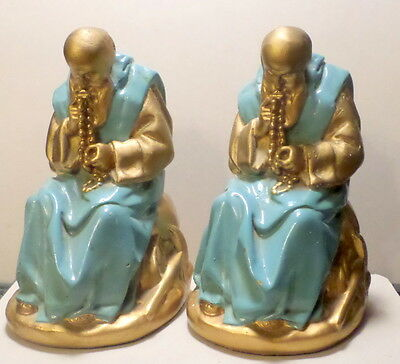 Vintage Pair of Pascal Bookends Francis Mandel Boston