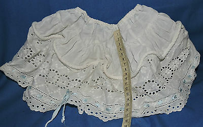 vintage rope petticoat doll BEAR SIZE size original white brodrie rope