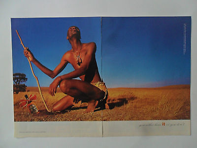 1998 Print Ad Chivas Regal Scotch Whisky ~ African Hunter