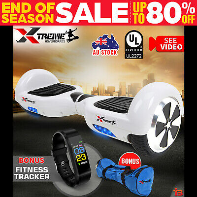 XTREME Smart Self Balancing Hoverboard Electric White 2 Wheel Scooter HoverBoard