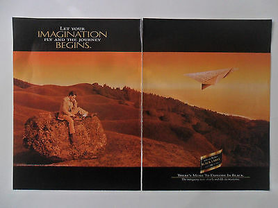 1995 Print Ad Johnnie Walker Red Label Whiskey ~ Let Your Imagination Fly