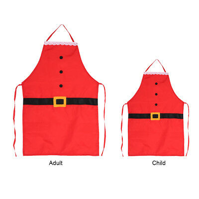 Christmas Apron Xmas Kitchen Bar Home Kids Adults Cooking Party Funny Gifts TP