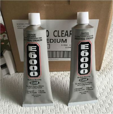 2PACKS - 110ml Clear E6000 Industrial Strength Multi-Purpose Adhesive Craft Glue
