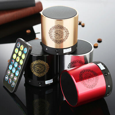 Potable Ramadan Quran Speaker 8GB Recitor Translation MP3 Player Muslim Gift