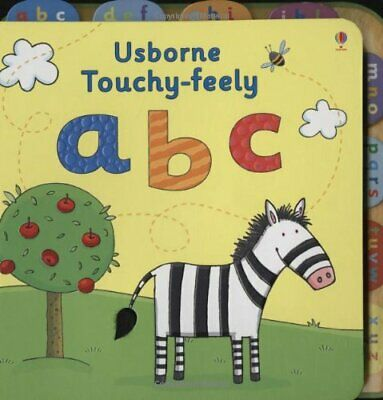 Touchy-feely ABC by Fiona Watt Board book Book The Cheap Fast Free Post