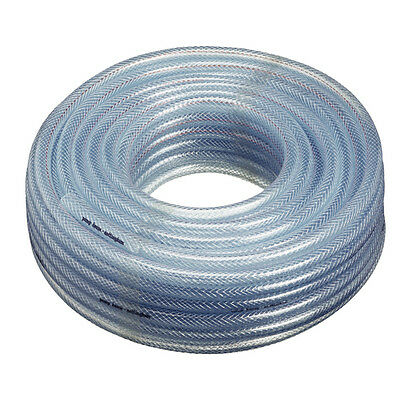 """Air Conditioning Drain clear Hose Tube PVC 30 metre coil of 1/4"""" -  6mm internal"""