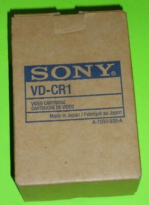 SONY VD-CR1 Video Cartridge NEW
