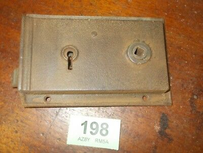 Antique Front Door Rim Lock Door Latch Locks 198