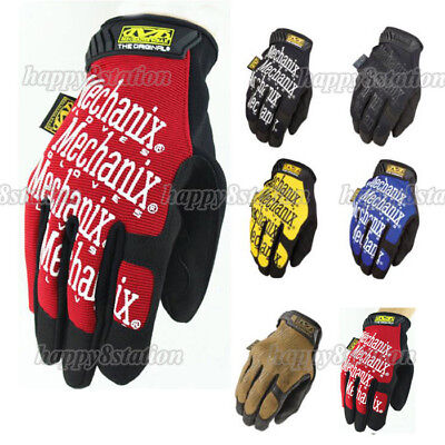 Mechanix Tactical Gloves Military Bike Race Sports Game Paintball Mechanic Army
