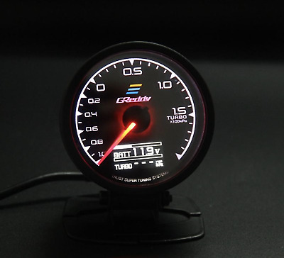 Greddy Multi D/A Voltage Boost Oil Press Digital PSI Analog 7 Colours Temp gauge