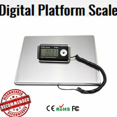 Commercial Power Digital Scale Platform Postal Weight Scales Capacity 200KG
