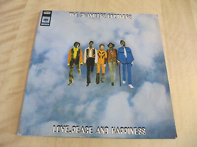 The Chambers Brother, Love, Peace And Happiness. 2. Live At Bill.., 2LP, cleaned