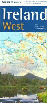Holiday Map - Ireland West (Irish M... by Ordnance Survey Irel Sheet map, folded