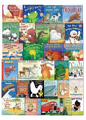 School Picture Flat Job Lot Wholesale Children Books Collection Set Read At Home