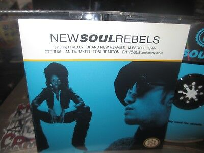 NEW SOUL REBELS CD en vogue SWV MARY J BLIGE r kelly toni braxton AALIYAH