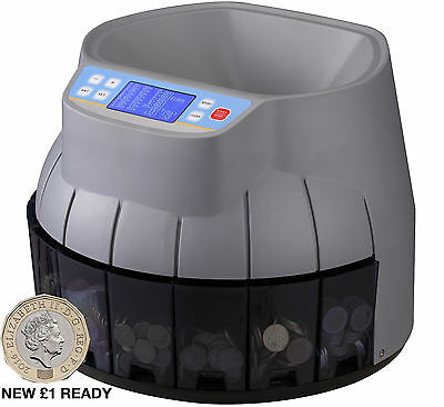 Advanced Model Coin Counter & Sorter Auto Electronic Counting Cash Money Machine
