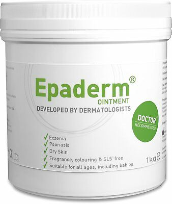 Epaderm Ointment for Eczema, Psoriasis & Other Dry Skin Conditions 1kg