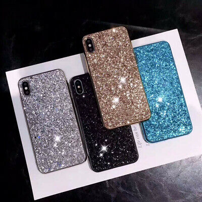 Bling Glitter Soft Sparkle Hybrid Case Cover For iPhone 11 Pro Xs Max X XR 7 8+