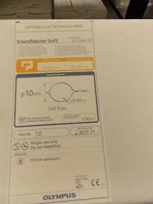 Olympus Disposable Electrosurgical Snare SD-240U-10 (Box Of 10) Price To Sell